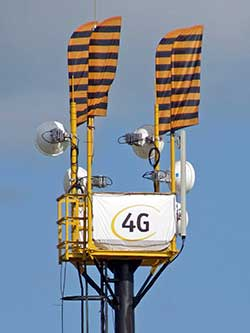 Вышка LTE мобильной связи Билайн