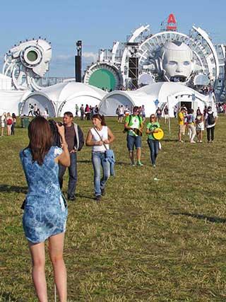 Крауд на фестивале