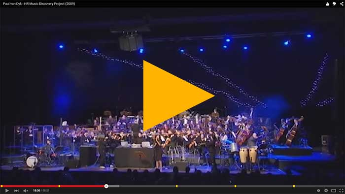 Paul Van Dyk plays with orchestra in Frankfurt (Music Discovery Project, 2009)